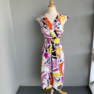 Lafayette 148 Floral Dress Size 14